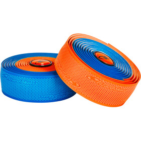 Lizard Skins DSP Dual Cinta de manillar 2,5mm, cobalt blue/orange
